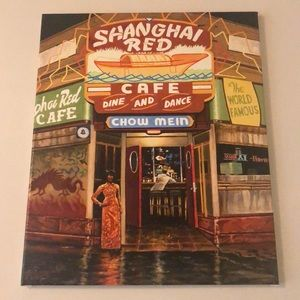 Shanghai Red Painting